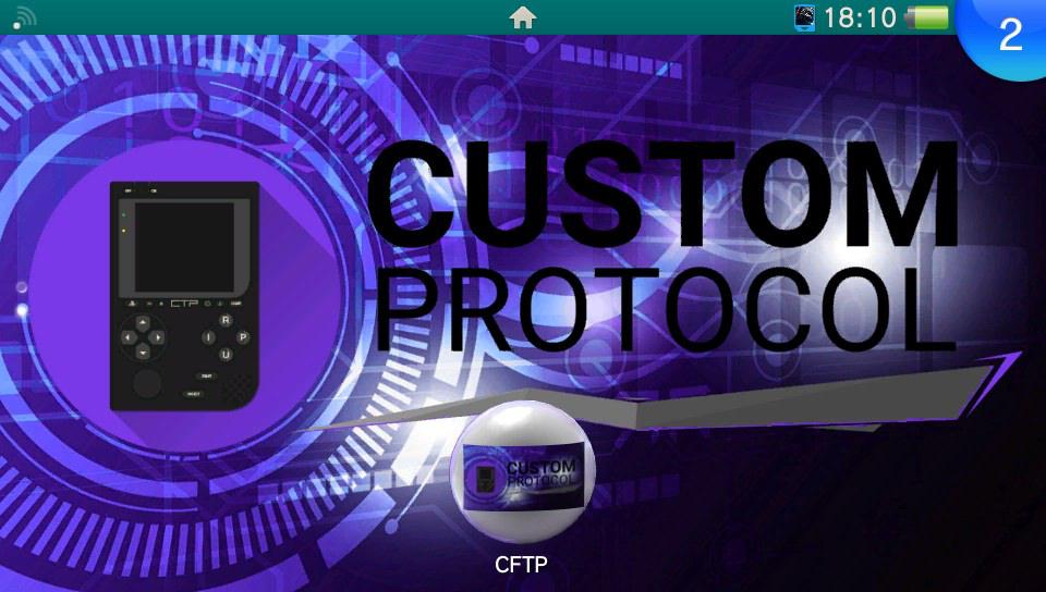 La custom bubble CFTP: Custom File Transfer Protocol! 8-)