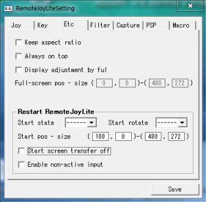 Etc - RemoteJoyLite