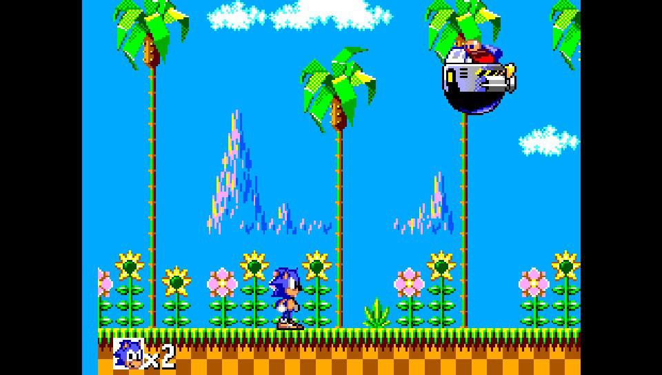 SMSPlus ps vita emulateur master system screenshot 3 Sonic the hedgehog