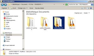 La sauvegarde renfermant l'archive de Vita FTP