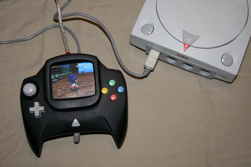 Manette Dreamcast console Dreamcast-controller-manette-speciale
