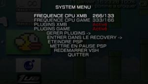 Le Mod permet de masquer certain élément du menu.