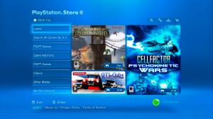 Le PS Store de la PS3
