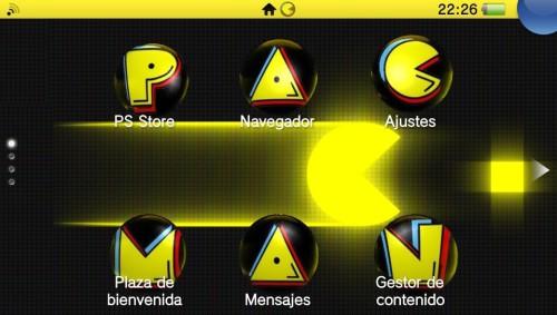 PacMan, thème PS Vita par YeeRMaaN
