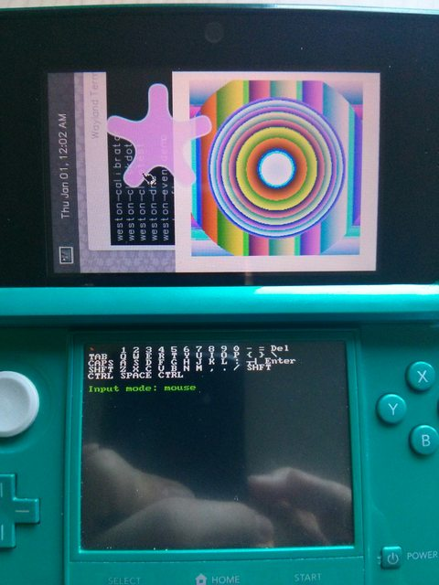 3DS Linux hack xerpi photo