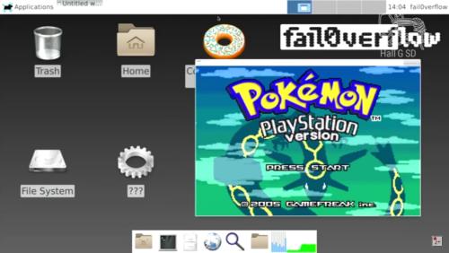 Qui n'a jamais rêvé de voir un Pokémon sur PlayStation?:P