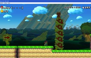 Cemu 1.3.0 Super Mario Maker screenshot