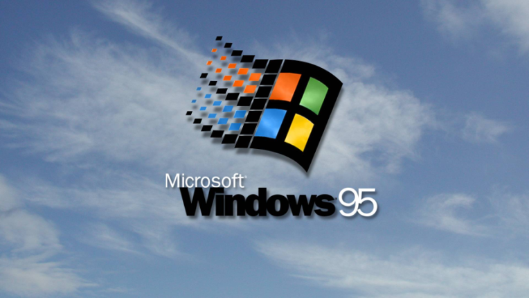 Logo de Windows 95