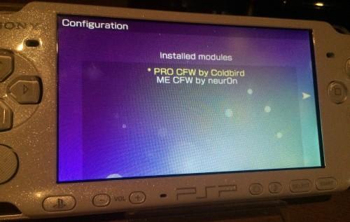 Le patch activé pour lancer automatique le PRO CFW Crédits: @The_Zett