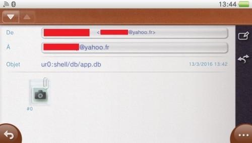 tuto psone loader mail réinstaller app.db