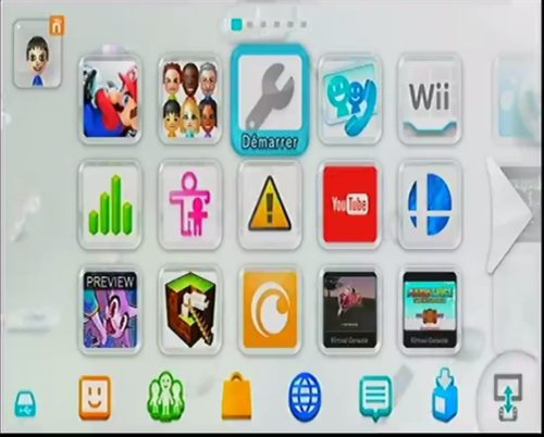 Paramètres Wii U