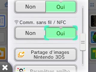 Wi-Fi active sur 3DS verification