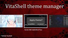 VitaShell Theme Manager 2