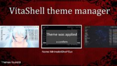 VitaShell Theme Manager 3