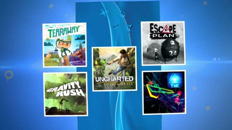 """Les 5 jeux présents dans le pack """"Aventure"""" PS Vita"""
