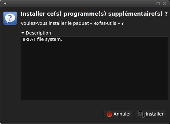 Cliquez simplement sur le bouton «Installer»